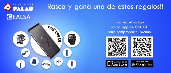 Promoción RASCA y GANA con Servicios Palau y CEALSA 2