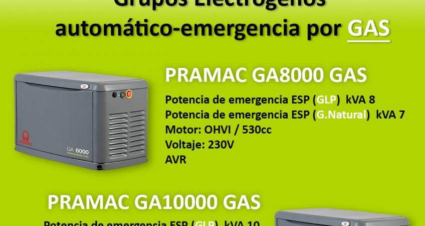Grupos Electrógenos Automáticos-Emergencia por GAS 1