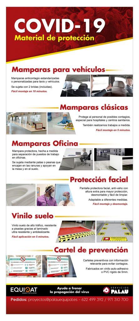 Material de protección COVID-19 2