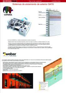 Información CAPAROL/WEBER