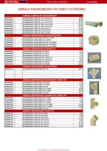 Adequa insonorizado PVC tubo y accesorio