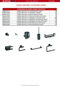 COSMIC accesorios baño ARCHITECT