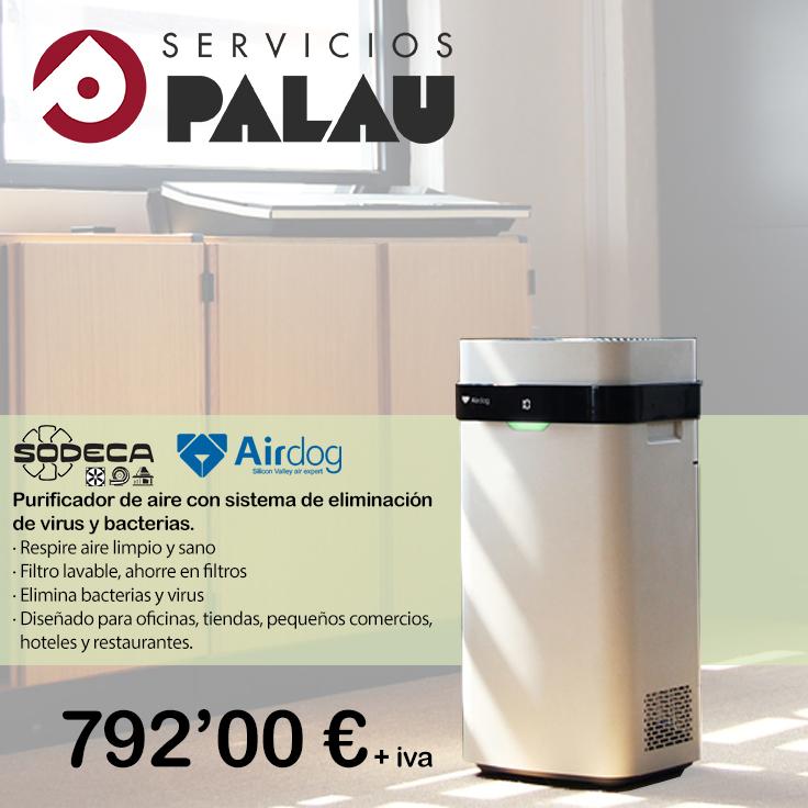 Desinfección y purificación del aire 4