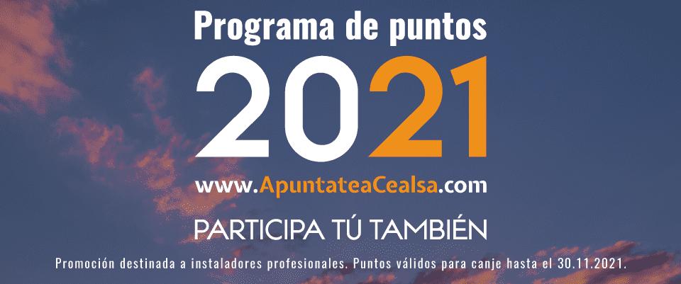 Programa de puntos CEALSA 2021 9