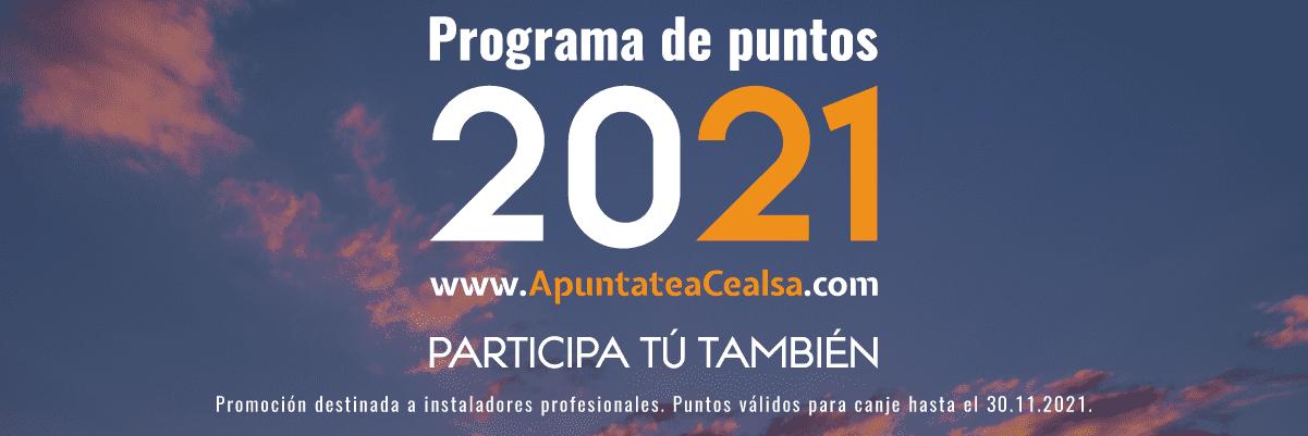 Programa de puntos CEALSA 2021 2